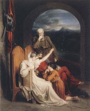 Judith - King Alfred's mother teaches him history.
